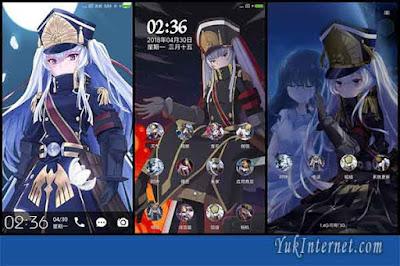 tema anime xiaomi re creators
