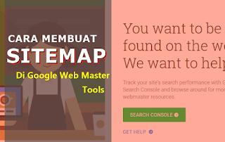Membuat Sitemap Blogspot di Google Web Master