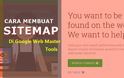 Cara Mudah Membuat Sitemap Blogspot di Google Web Master Tools