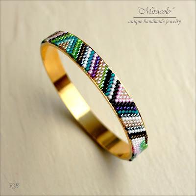 bransoletka na bazie nunn, bracelet