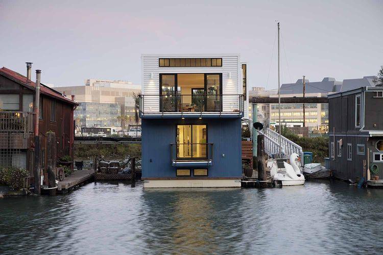 Un loft boat pour que la croisiere s 39 amuse a la maison berenice big - Habiter sur une peniche oui cest possible ...