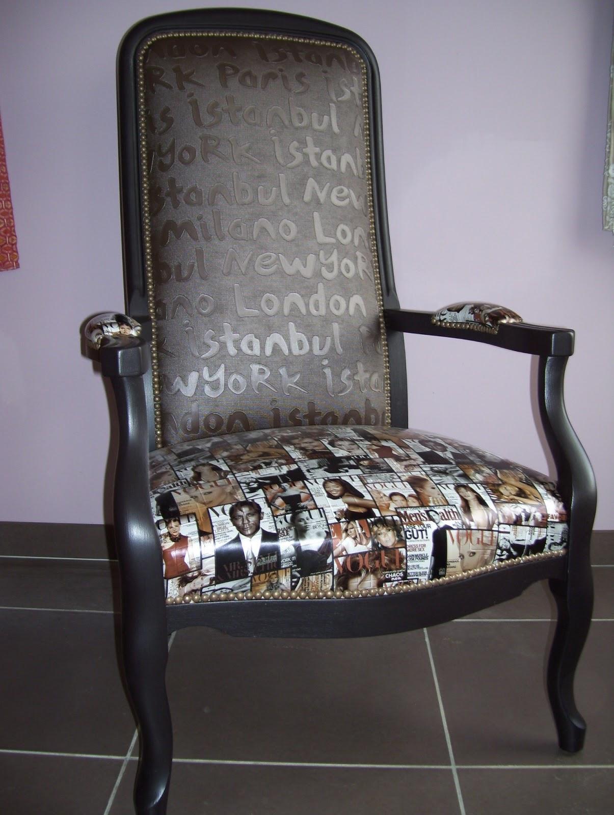 atelier ana s deco tapissier decorateur label artisan d 39 art fauteuil voltaire cr ation en vente. Black Bedroom Furniture Sets. Home Design Ideas