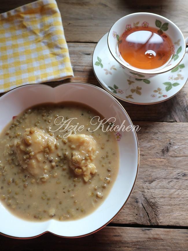 Bubur Kacang Hijau Dengan Periuk Noxxa Azie Kitchen