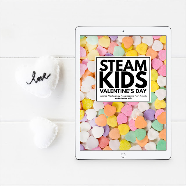 14+ Awesome STEAM activities for kids for Valentine's Day
