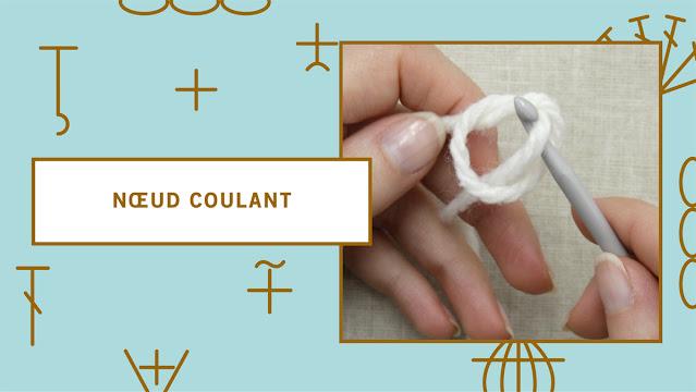 comment faire un nœud coulant pour crocheter