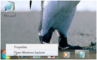 Menghapus file prefetch dan temporer di windows 7