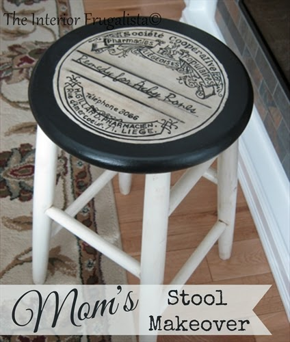 Mom's Stool Got A Makeover
