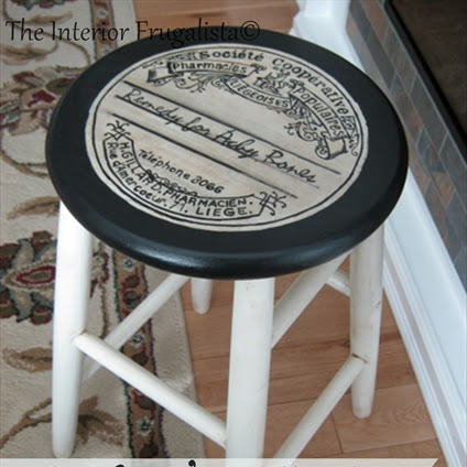 Mom's Wooden Stool Got A Befitting Makeover