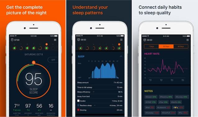 أفضل تطبيقات لمراقبة وتحسين نومك للأيفون