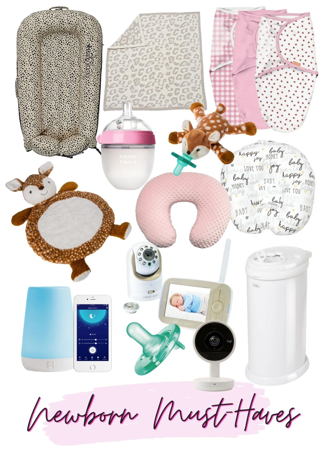 Top Must Have Newborn Baby Items
