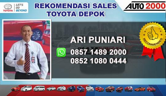 Rekomendasi Sales Toyota Citayam Depok 2018