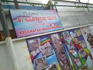 Kampoeng Selfie Kota Medan, wisata medan, wisata, kampung kreatif kota medan