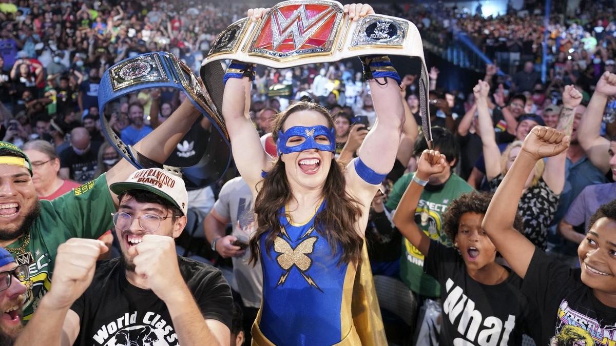 Nikki A.S.H recebeu várias vaias em live event da WWE