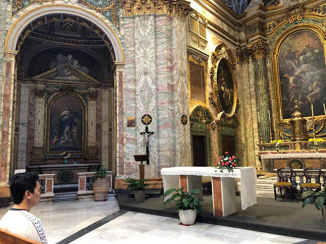 SHD in Cathedral Roma