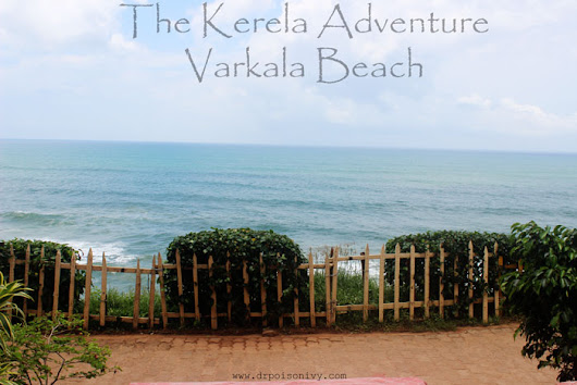 Dr.Poison Ivy's Beauty Blog: The Kerela Adventure-Varkala Beach