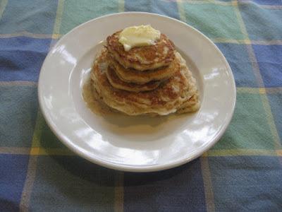 Oatmeal Buttermilk Pancakes recipe