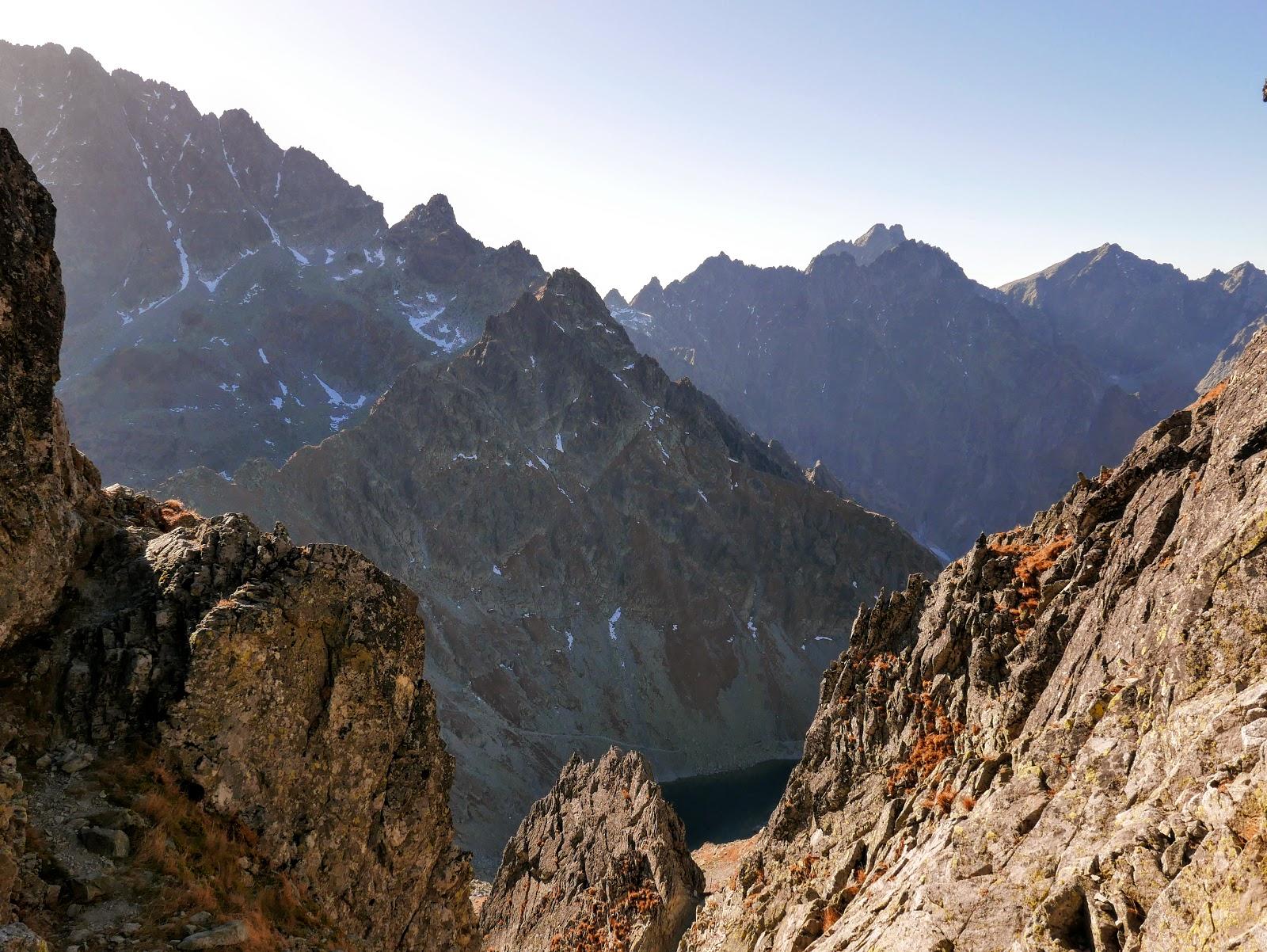 tatry szlak Rohatka Prielom panorama foto