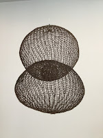 Photo taken by Kurt Keller at David Zwirner Gallery of Ruth Asawa sculpture