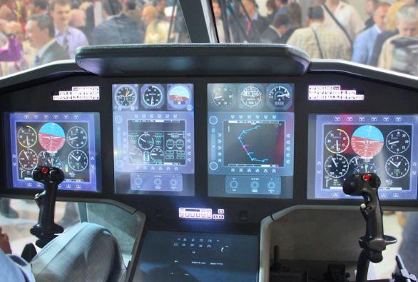 Kamov Ka-62 cockpit