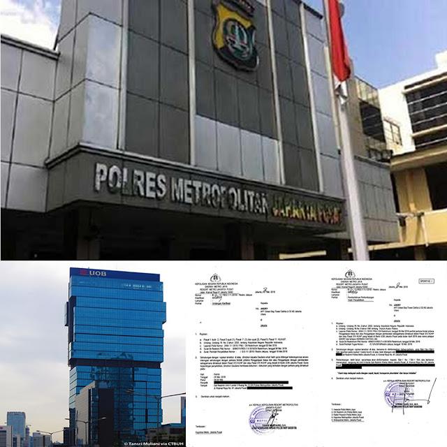 Bank UOB Indonesia Di-BAP-Kan, Akankah Jadi Tersangka ???