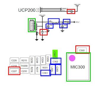 samsung c3322 mic ways