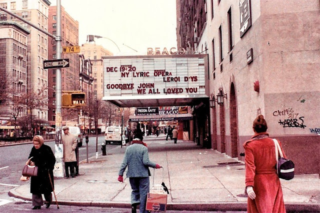 Beacon Theater NYC ca. 1981 randommusings.filminspector.com