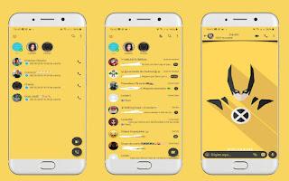 Wolverine Theme For YOWhatsApp & Fouad WhatsApp By Leidiane