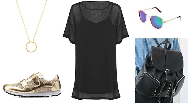 summer goth outfit