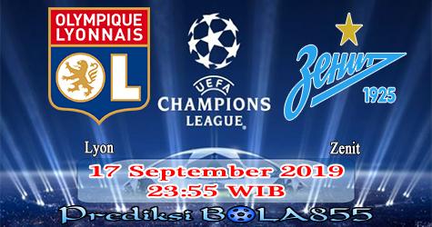 Prediksi Bola855 Lyon vs Zenit 17 September 2019