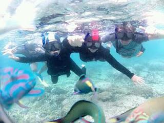 Wisata Pulau Menjangan Bali Barat : Menjajal Snorkeling Bersama Keluarga
