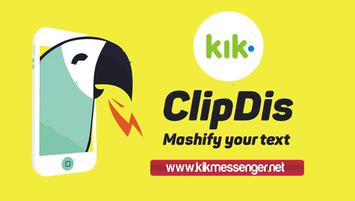 Videos divertidos con ClipDisBot for Kik