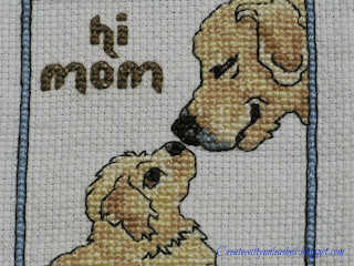 Cross stitch pet