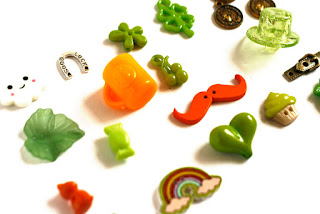 Saint Patrick's day theme trinkets for I Spy bag, I spy bottle and other holidays games or crafts TomToy