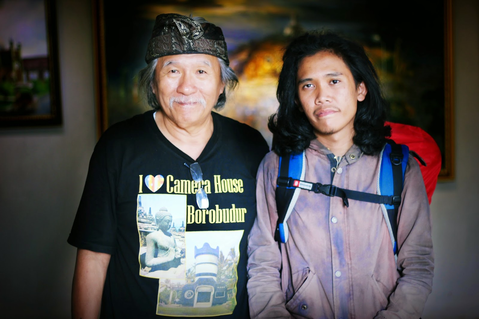 Tanggol Angien Jatikusumo pemilik rumah kamera borobudur