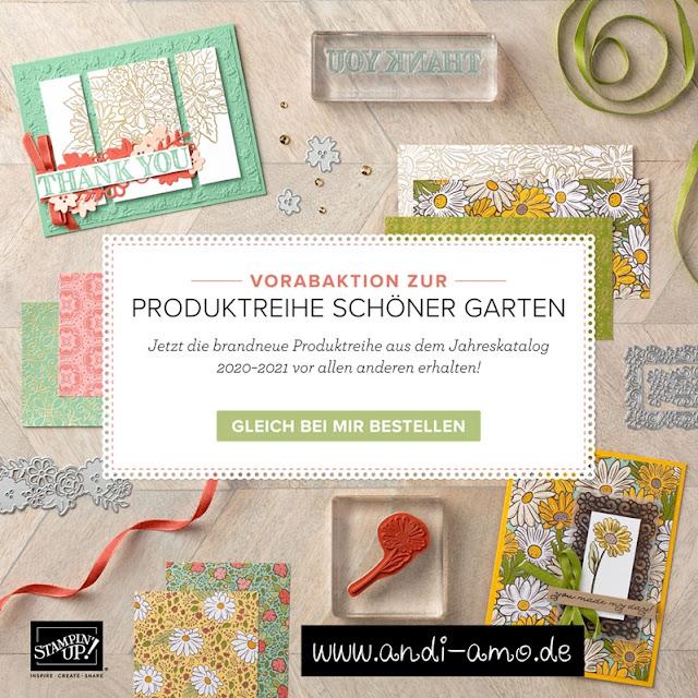 Stampin Up Vorabaktion Schöner Garten andi-amo