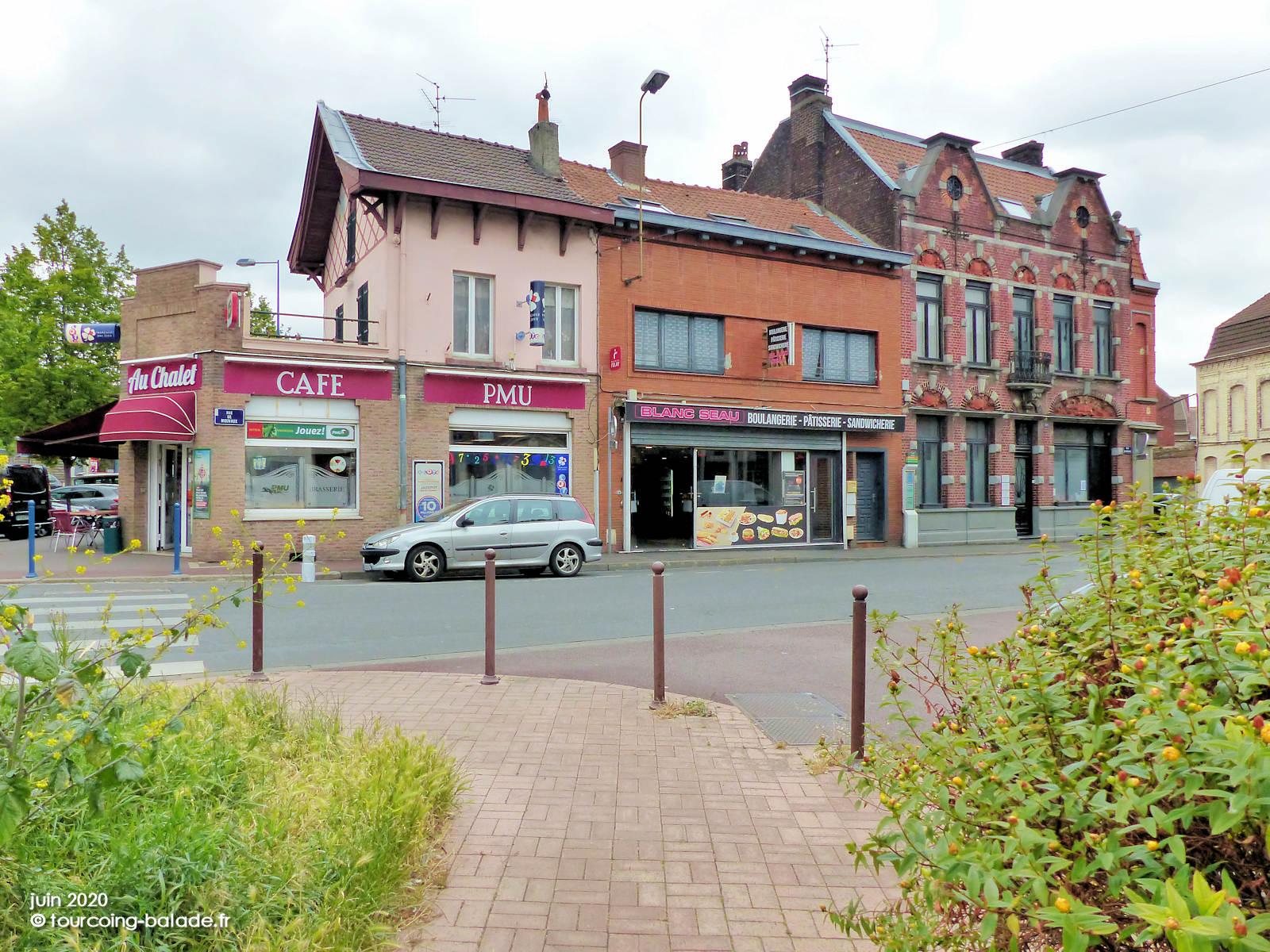 Bar Café PMU, Au Châlet, Blanc Seau, Tourcoing 2020