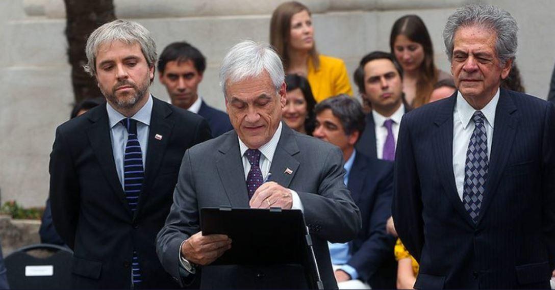 La Constitución, según Piñera