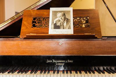 Gustav Holst's Broadwood piano today