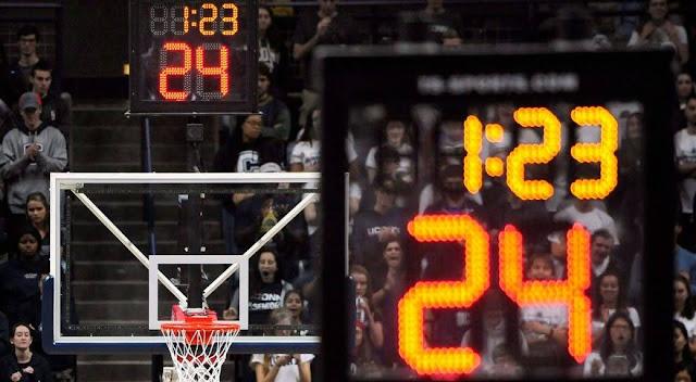 NBA 球迷必備的籃球詞彙 (場地及規則篇) - 籃框及進攻計時器