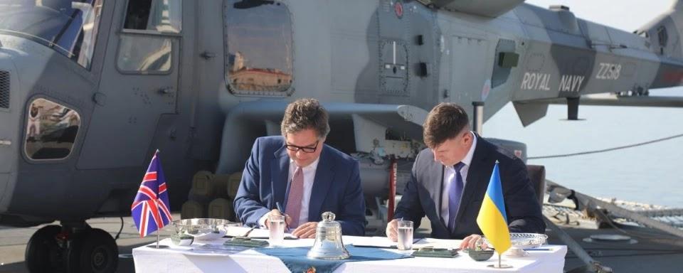 Контакт на британські ракетні катери підпишуть у серпні