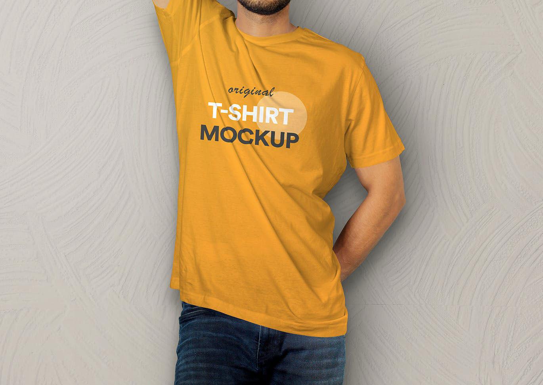 T Shirt Mockup Vol 09p