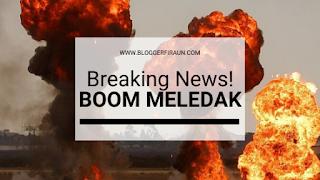 Gambar Merupakan Ilustrasi Bom Meledak di Polrestabes Medan