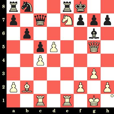 Les Blancs jouent et matent en 4 coups - Bogdan Lalic vs Pal Kiss, Cannes, 1990