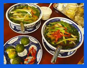 Comment manger la soupe pho ?