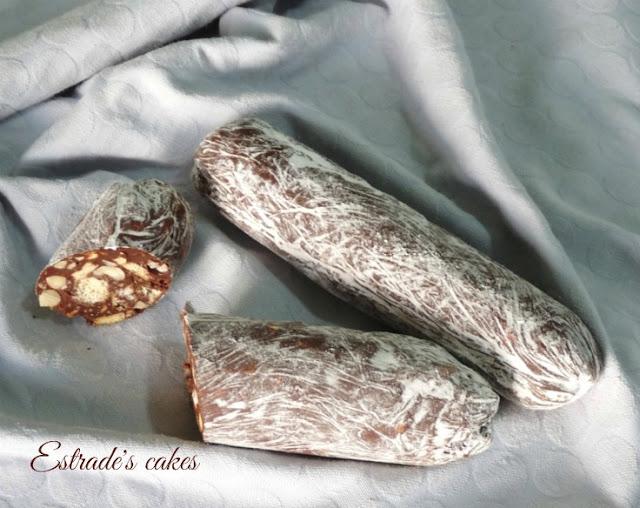 receta de salchichón de chocolate 3