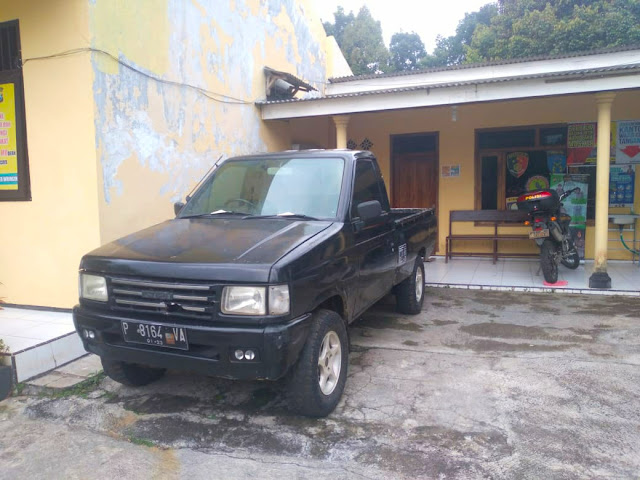 Kasus Ilegal Logging, Mobil Oknum Perhutani Diamankan Polisi