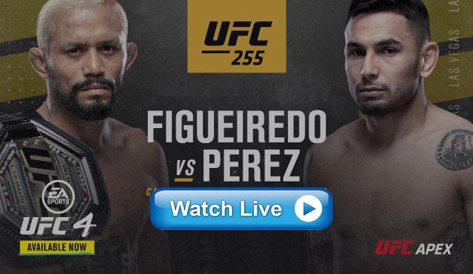 مشاهدة نزال فيجيريدو ضد بيريز بث مباشر UFC 255