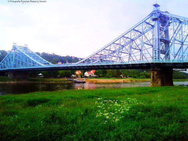 berühmteste Brücke Dresdens