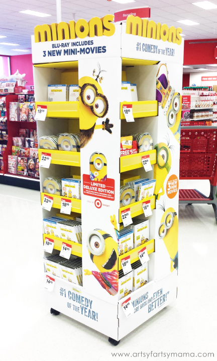 Purchase the Minions movie at your local Target! #MinionsMovieNight!