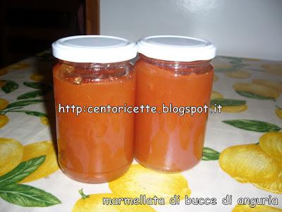 Marmellata di bucce di anguria